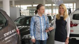 2013 - s generální manažerkou BMW společnosti Stratos auto Ing. Šárkou Strakošovou