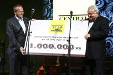 CENTRAL GROUP věnuje výtěžek ve prospěch Nadačního fondu pro zdraví dětí