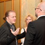 s Ing. Danielem Sobotkou, ředitelem Symfonického orchestru hl. m. Prahy FOK a s manažerkou Janou Dioszegi
