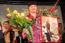 převzetí Platinové desky Supraphonu za prodej 2011