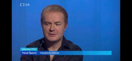 Pavel Šporcl hostem slavnostního Interview ČT24